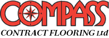 compass contract flooring logo